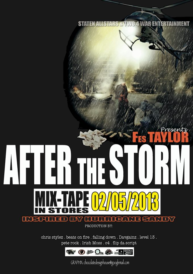Fes Taylor - After the Storm in stores Feb 5th!