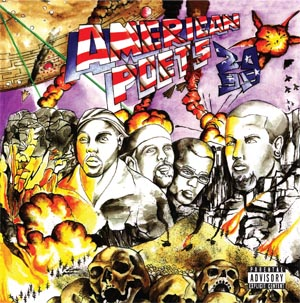 American Poets 2099 self titled album now in stores!