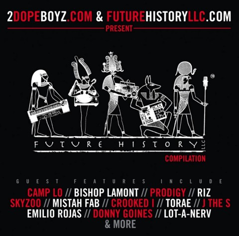 Free compilation feat. Prodigy, Crooked I, Camp Lo, Mistah Fab, Skyzoo, Lot A Nerv and others