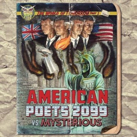 Now in Stores: American Poets Vs. Mysterious – The World of Tomorrow, Part 2