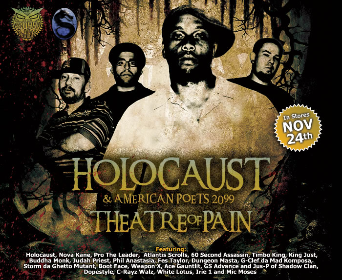 HOLOCAUST & AMERICAN POETS 2099  THEATRE OF PAIN (American Muscle Raps)