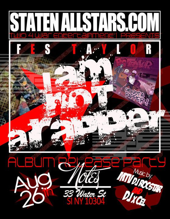 Fes Taylor's Album Release Party + Judah Priest & Baker Don B-Day Party