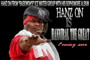 Icewater's Hanz On new album coming soon!!!