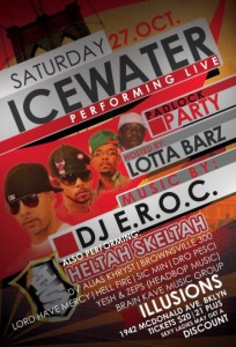 Icewater and Zu Ninjaz shows