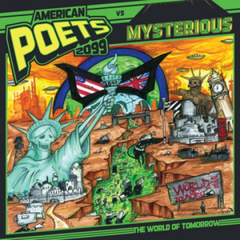 American Poets 2099 – World of Tomorrow NOW IN STORES!!!