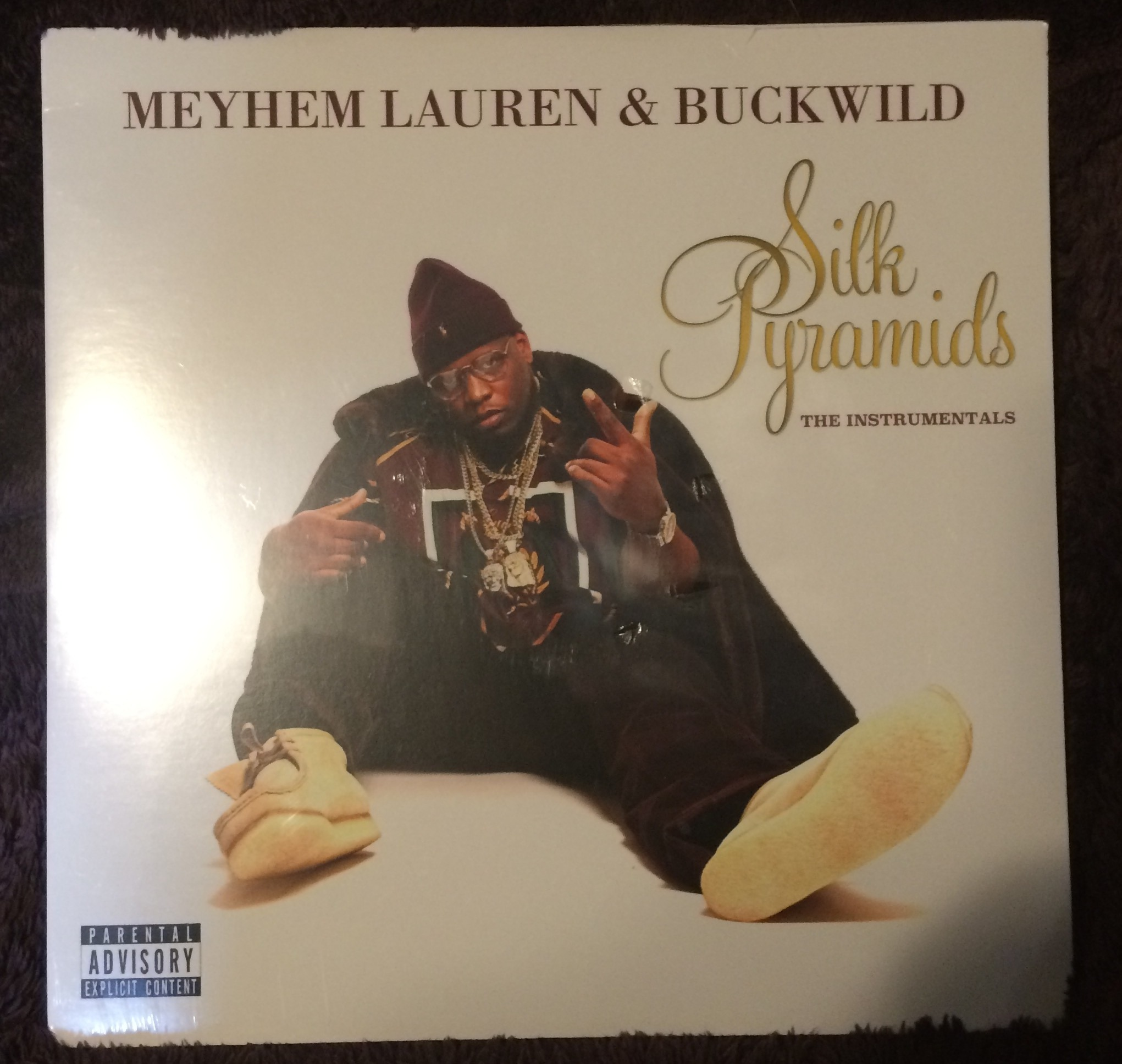 Meyhem Lauren & Buckwild - Silk Pyramids - The Instrumentals (Vinyl LP)