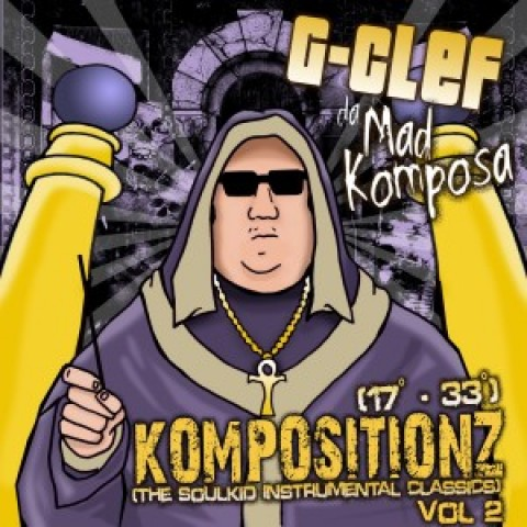 G-Clef Da Mad Komposa – Kompositionz now available digitally