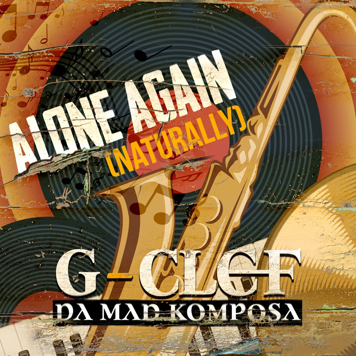 g-clef da mad komposa alone again