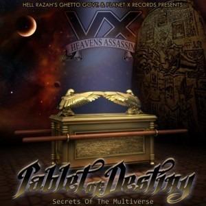 Vega X - Tablet of Destiny: Secrets of the MultiVerse LP